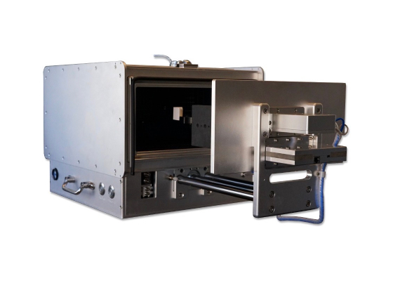 Pneumatic shielding boxes for rf ota testing
